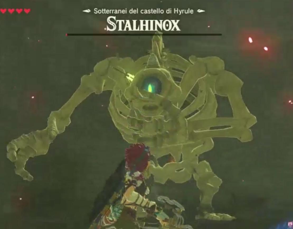 Scudo Hylia: Lo Stalhinox in fin di vita
